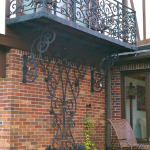 Balcony and Trellis