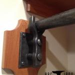 Coat Rod and Side Bracket
