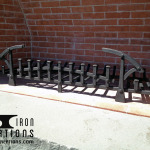 Outdoor Fire Grate 2