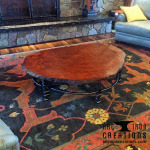 Redwood Coffee Table 1