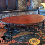 Redwood Coffee Table 2