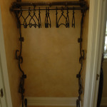Wall Mount Coat Rack with Hangers