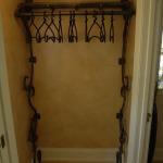 Wall Mount Coat Rack with Hangers